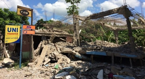 Earthquake in Haiti: Aquassistance and Fondation SUEZ support NGO ACTED in emergency intervention