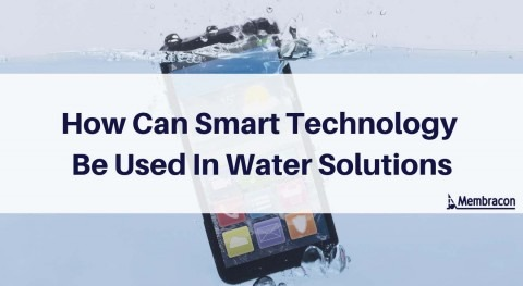 How can smart technology be used in water solutions