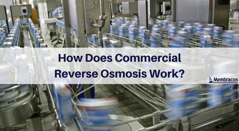 How does commercial reverse osmosis work?