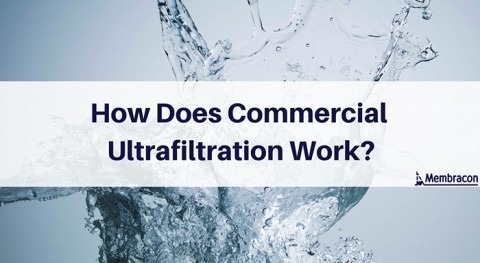How does commercial ultrafiltration work?
