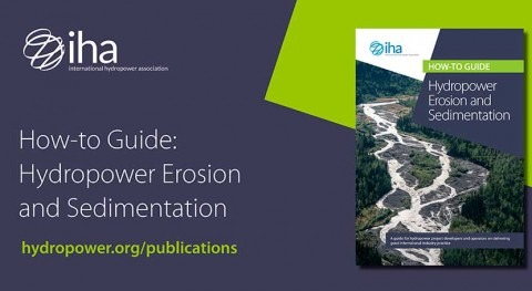 Manage erosion and sediment sustainably with new hydropower guide