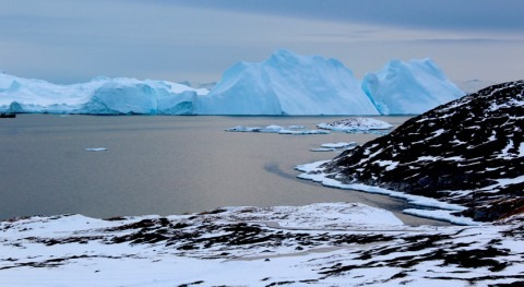 Warming Greenland ice sheet passes point of no return