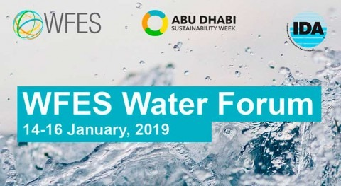 IDA co-organizes with MASDAR and REED Exhibitions the 2019 World Future Energy Summit Water Forum