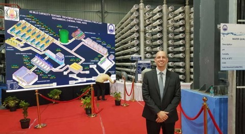IDE Technologies completes Tertiary Treatment Reverse Osmosis plant in Chennai, India