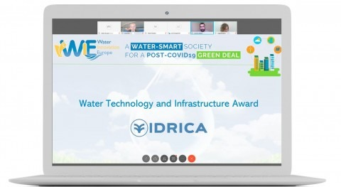 GoAigua wins Water Europe award for its Early Warning System to detect COVID-19 in wastewater