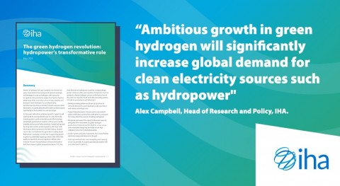 New paper: Couple green hydrogen with hydropower to create net zero future