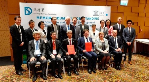 IHE Delft renew collaboration with Drainage Services Department of Hong Kong