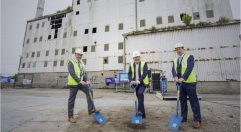 Irish Water turns sod on landmark Arklow Wastewater Treatment Plant