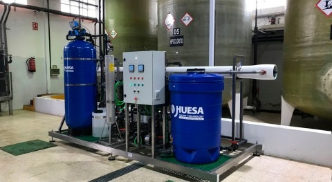 Water suitability for the production process of national cleaning products industry