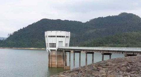 PUB: Water level at Linggiu Reservoir in Johor falls below 50%