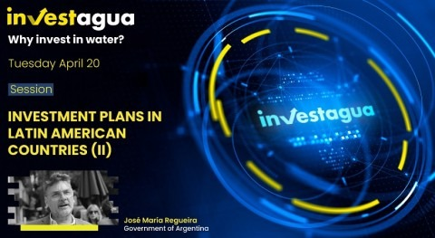 "J.M. Regueira at INVESTAGUA: ""Due to COVID-19, water investments increased by 200% in Argentina"""