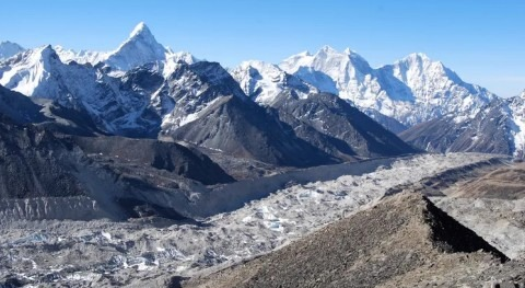 Two-thirds of glacier ice in the Himalayas will be lost by 2100 if climate targets aren't met