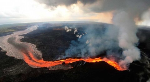 Shape of volcanic ash influences contamination of water sources in volcanically active regions