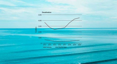 The evolution of rates in desalination (Part I)