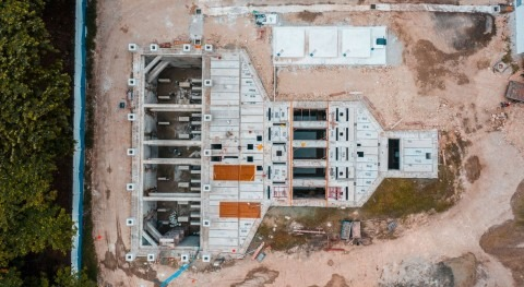 ACCIONA Agua completes the structural assembly of the Pradera pumping station in Ecuador