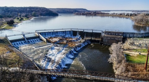 Voith wins contract to replace 100-year-old power-generating turbines at Lake Byllesby Dam, US