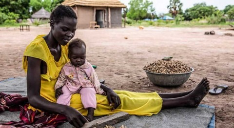 Last year's floods in South Sudan worsens food security