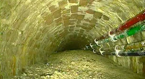 London sewers blocked by whale-sized 'concreteberg'