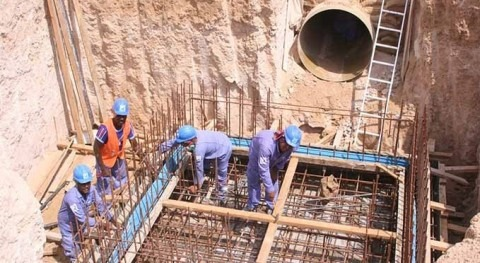 DEWA completes 80% of Lusaily reservoir to increase water storage capacity in Dubai to 1002 MIG