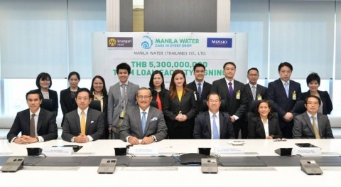 Manila Water successfully refinances East Water acquisition loan