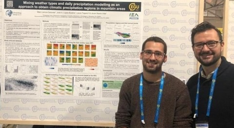 UB team analyses the impact of climate change in dry and hot periods in the Pyrenees