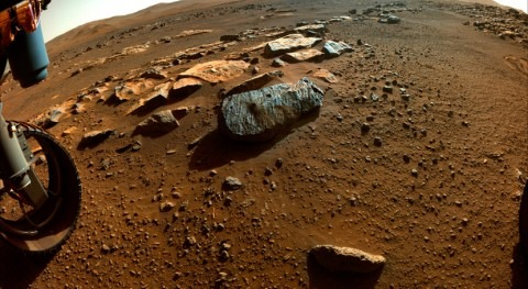 Mars' history was marked by volcanic activity and periods of persistent water