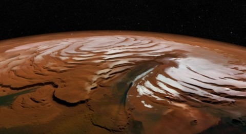 Massive Martian ice discovery opens window into red planet's history