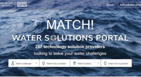 New tool matches water practitioners with technology providers to solve water challenges