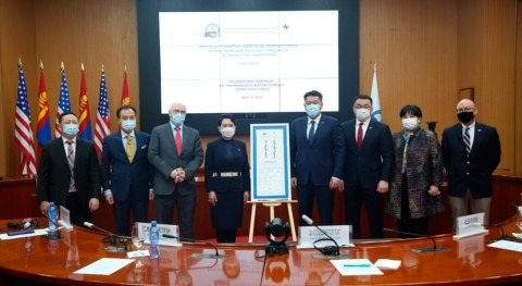 MCC and Mongolia celebrate the launch of $350 million Mongolia Water Compact