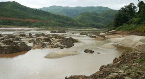 Mekong water levels reach low record