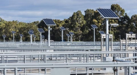 Melbourne Water begins work on one of Australia's largest solar farm