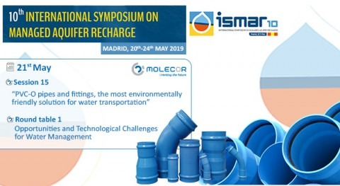 Molecor, sponsor and speaker at ISMAR10