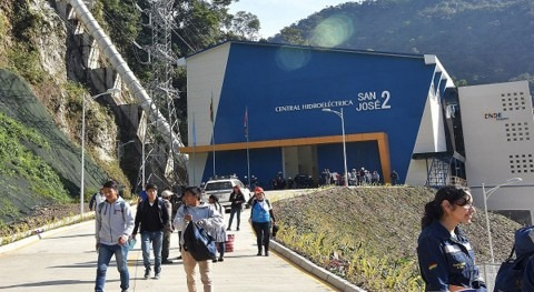 More than 700,000 people will benefit from San José 2 hydropower plant in Cochabamba, Bolivia