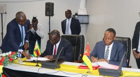 Mozambique and Zimbabwe sign agreement to enhance water cooperation in the Buzi Watercourse