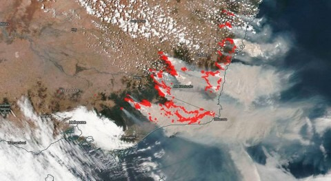 Rains bring very temporary relief to Australia's fires