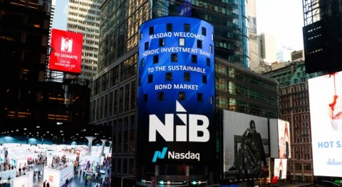 NIB lists Nordic–Baltic Blue Bond on Nasdaq Nordic Sustainable Debt Market