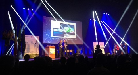 GoAigua category winner of the Aquatech innovation award 2019