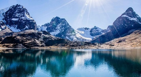 Bolivia's Tuni glacier is disappearing, and is the water it supplies