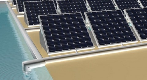 New solution could bring both solar power and clean water