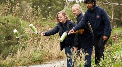 GPS tracking reveals how litter travels through Melbourne's waterways