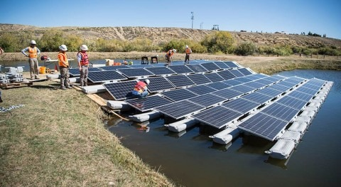 Great potential for floating photovoltaic systems