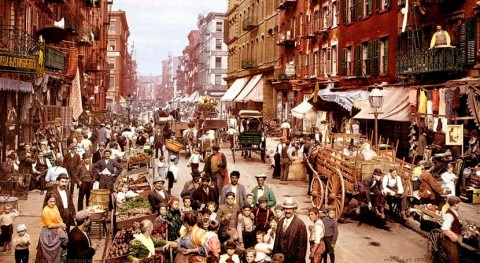 New York, manure and stairs: when horses were the cities' nightmares