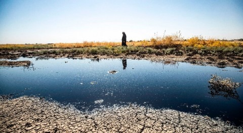 Oil pollution threatens water sources in northeast Syria