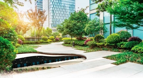 How can we design efficient urban environments to create space for water?