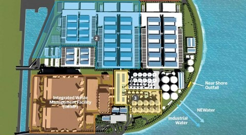PUB awards US$327 million Domestic Liquids Modules contract for Tuas Water Reclamation Plant