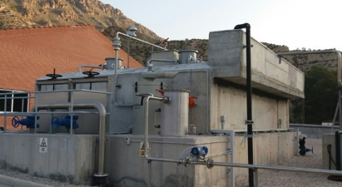 The UASB anaerobic reactor designed by ACCIONA Agua and Esamur has been operating for over year