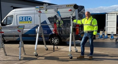 REID Lifting appoints Michael Stuhr as its new Regional Sales Manager