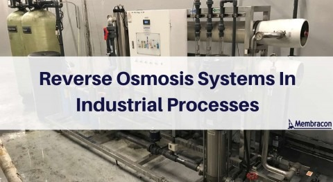 Reverse osmosis systems in industrial processes