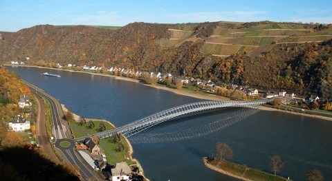 Low water in the Rhine blow to Germany's economy