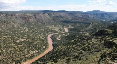 Not grand anymore: water flows in the Rio Grande dwindle in New Mexico